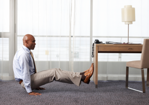 man-exercise-desk